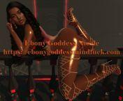 Ebony Goddess Mindfuck Ebony Hypnodomme Erotic Hypnosis Audios Details on blog https://ebonygoddessmindfuck.com from ebony pyt